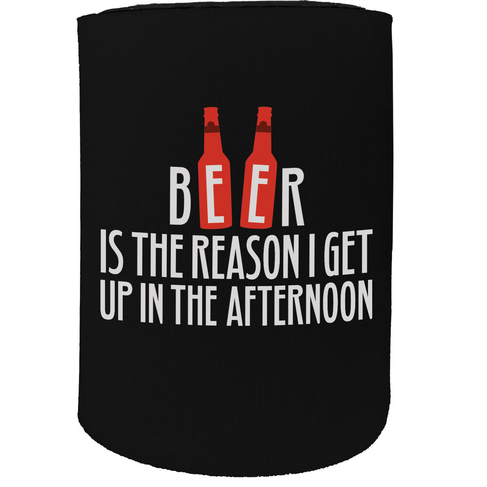 Funny Novelty Birthday Stubbie Stubby Holder You Can Stay But Clothes