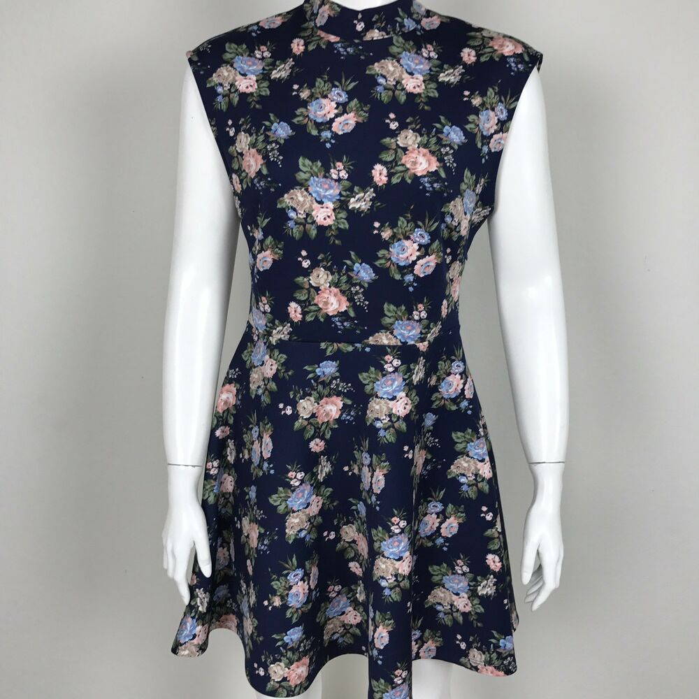 bc908020dd81 Short Sleeve Floral Dress Forever 21 | Saddha