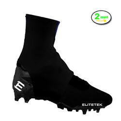 EliteTek Cleat Covers Youth and Adult (Pair)  Keep Turf Pellets out of Cleats