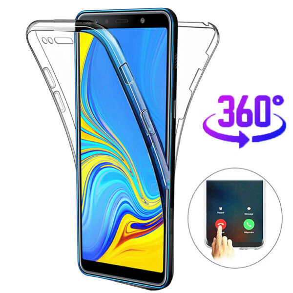 360° Full Body Shockproof TPU Case Cover for Samsung Galaxy S10 Plus/S10e S9 S8+