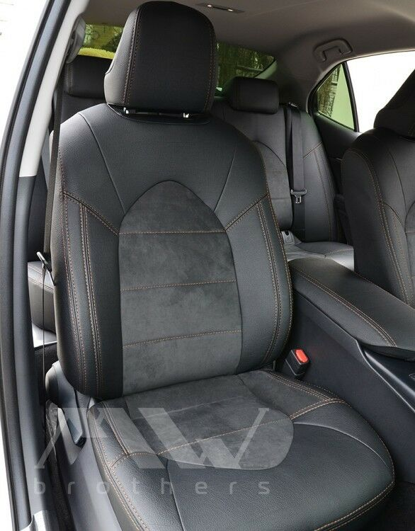 Details About Seat Covers Set For Toyota Camry Xv70 2017 Leather Alcantara Premium Best