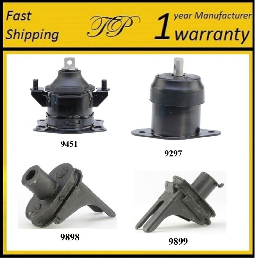 4 PCS MOTOR MOUNT FOR 2004-2006 Acura TL 3.2L