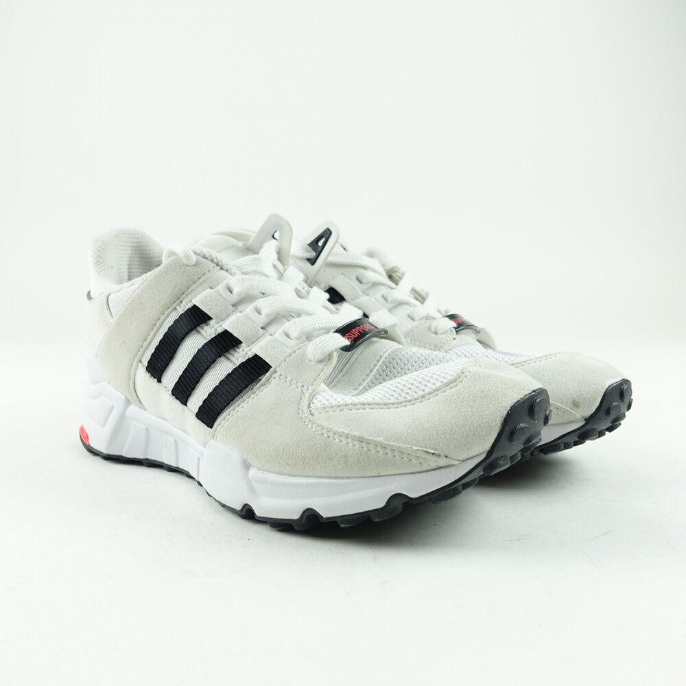 newest eeaa2 421b5 Details about Adidas Originals Kids EQT Support ADV Sneakers Size 5.5 White  BB0263