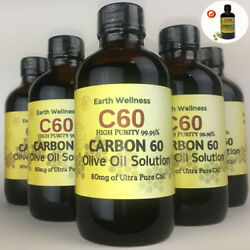 C60 Olive Oil 100ml Fullerene Carbon 60 High Purity 99.99% FAST SHIPPING
