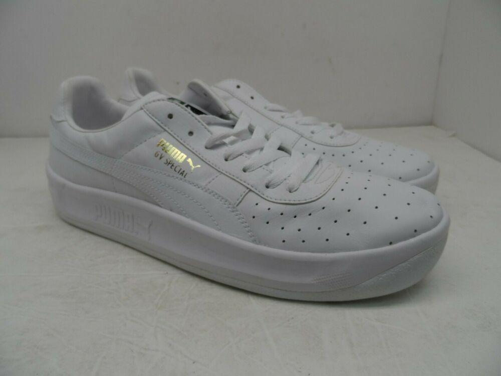 7604fe7bf23cc0 Details about Puma Men s GV Special Casual Athletic Shoe White Size 12M