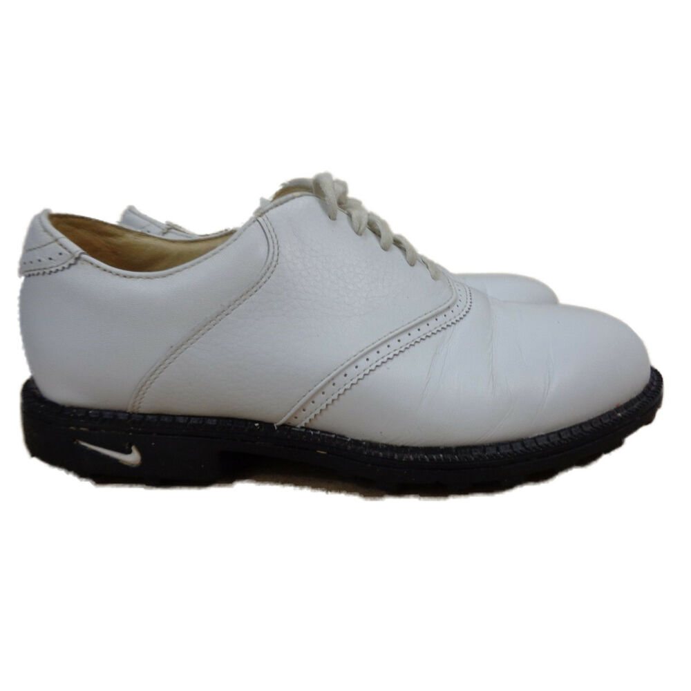 6c320aac7 Details about Nike Air Women s  Bella Last  White Leather Golf Shoes  (192056-111) EU 39 US 8