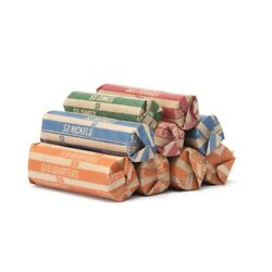 Kyпить 500 - Combination Pack Flat Coin Wrappers - Penny Nickel Dime Quarter - Mix MMF на еВаy.соm
