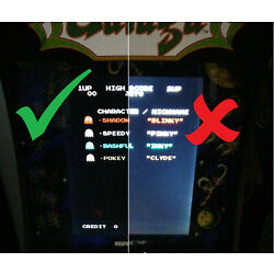 Brightness Adjustment for EARLY Arcade1Up Cabinets - DIMMING,CONTRAST,FIX BLACKS