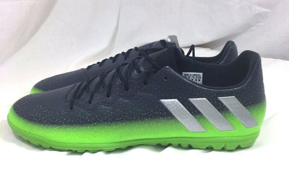 06ee62ee284a Details about Adidas Messi 16.3 TF Turf Soccer Cleats Football Shoes Gray  AQ3524 Size 12
