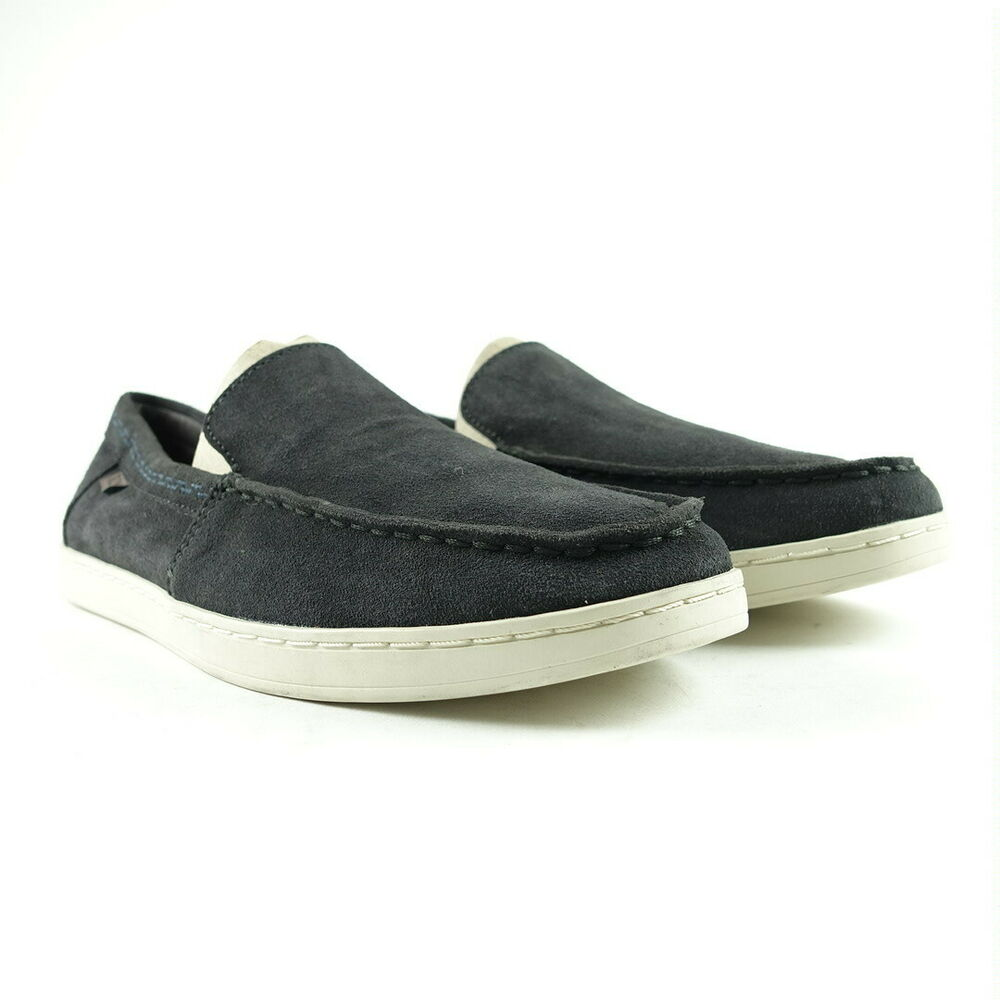 7d019afa54 Details about TOMS Men Size 9 Black Suede Aiden Slip On
