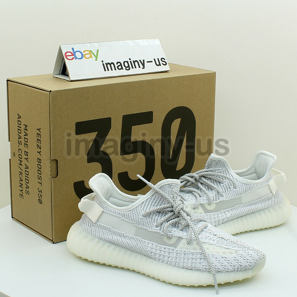 official photos 2cba9 c20ba Details about adidas EF2367 YEEZY BOOST 350 V2 STATIC 3M REFLECTIVE STATIC  IN HAND