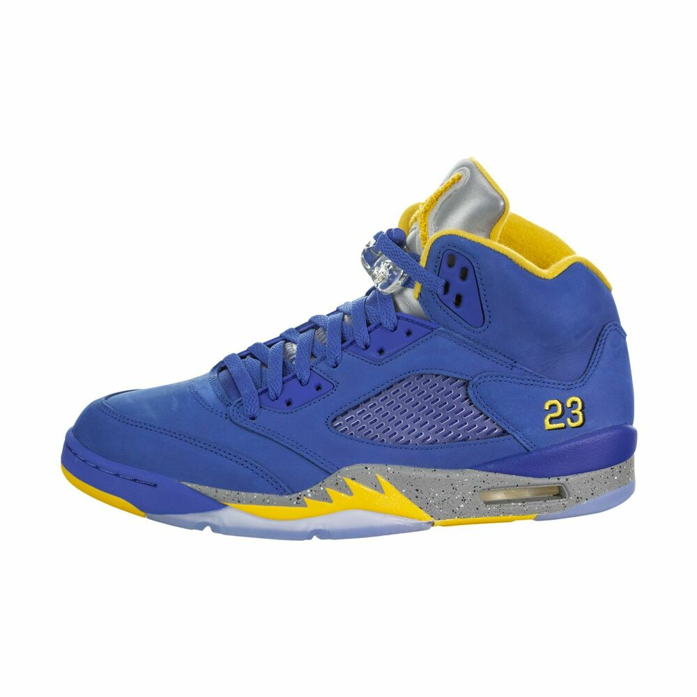 reputable site f9f8b 8b082 Details about Air Jordan V (5) Retro (Laney) cd2720-400