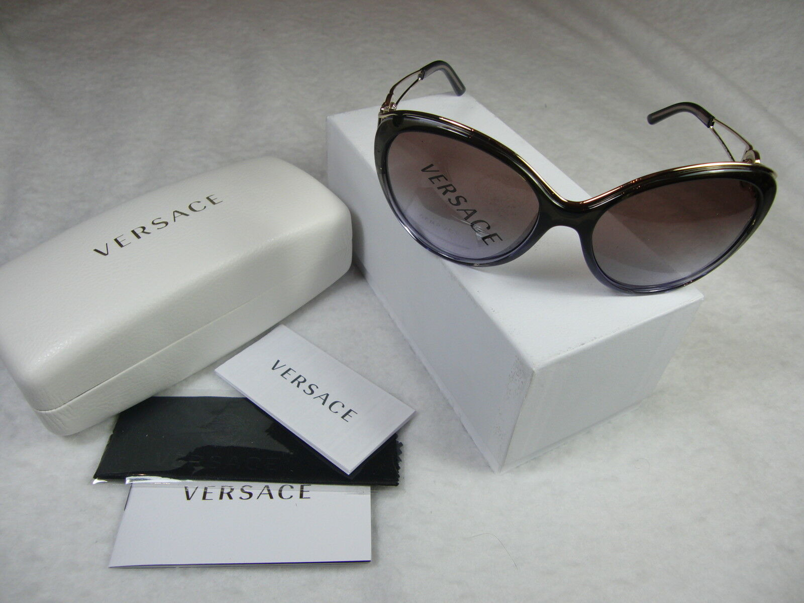 ac5677d848a ... EAN 8053672441901 product image for Versace Polarized Sunglasses With  Case cloth (ve2163) ...