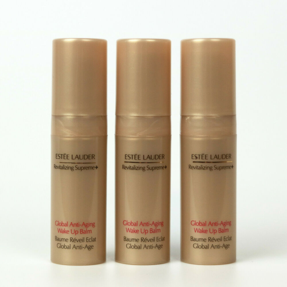 Details About Lot 3 X Estee Lauder Revitalizing Supreme Global Anti Aging Wake Up Balm