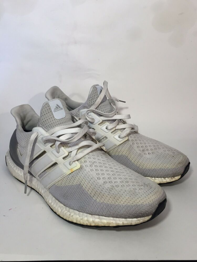 2073ffbde32 Details about adidas Ultra Boost M 2.0 Gradient Cream White Clear Grey Core  Black AQ4007 11.5