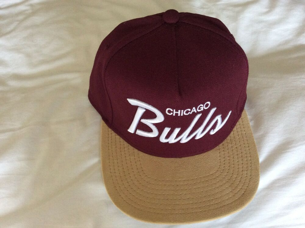 05b27d00fa0b6 mens Dark Red mitchell   ness baseball cap