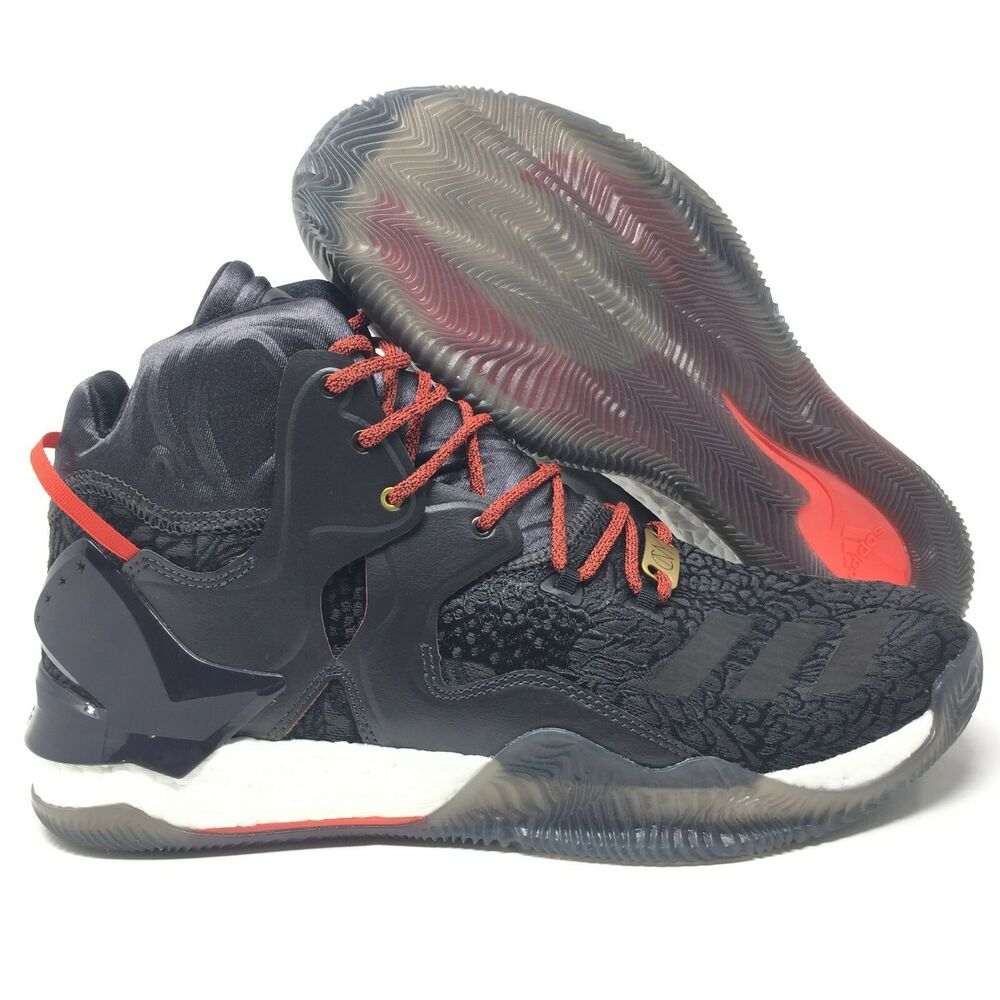 8866a490306 Details about Adidas D Rose 7 Boost D Rose VII Basketball Shoes Chinese New  Year Edition 14
