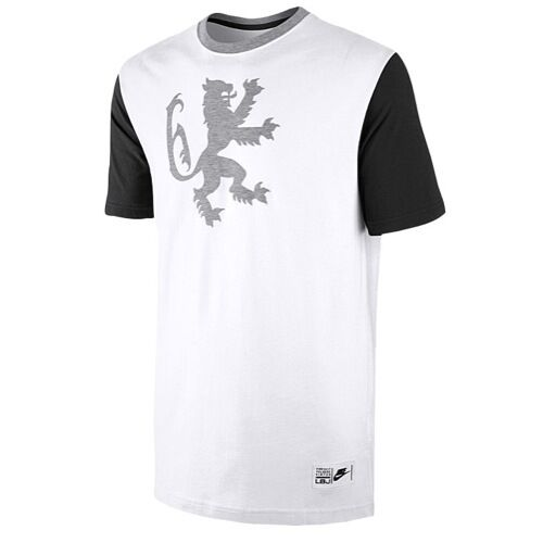 "b1926e74 Details about Nike LeBron James ""LeBron Lion"" T-Shirt White/Black Mens  Medium Large XL BNWT"