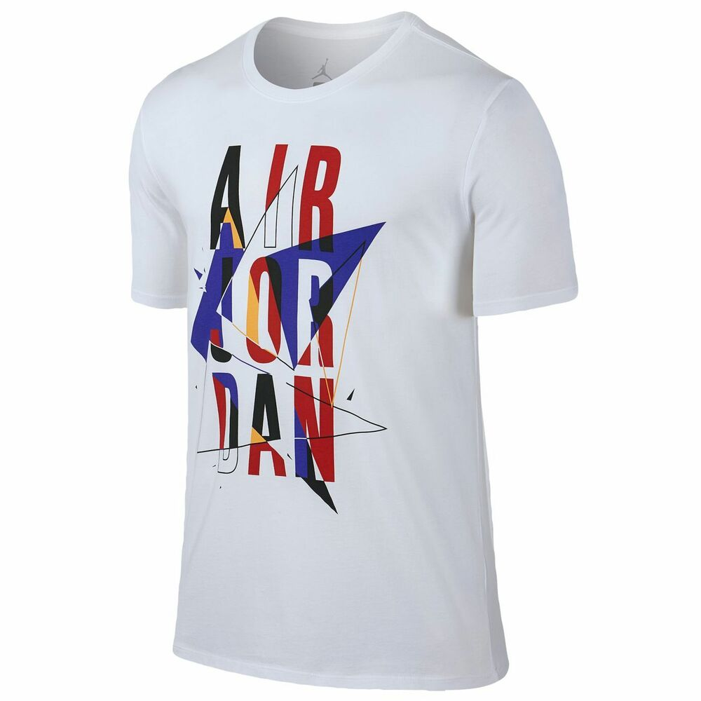 "a8ce08ef1638e6 Details about Nike Air Jordan Retro 7 ""Stacked"" T-Shirt Men s XL 2XL BNWT  FAST FREE SHIPPING!"