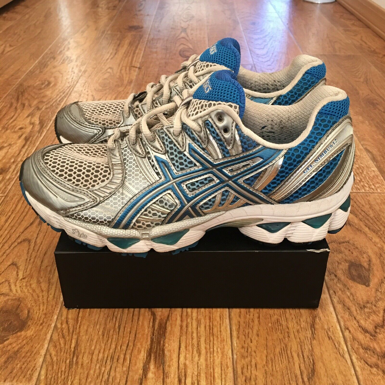 0c5d9c7049 UPC 883722810009 product image for Asics Gel-nimbus 12 Women's Running  Shoes Size 7.5 Silver ...