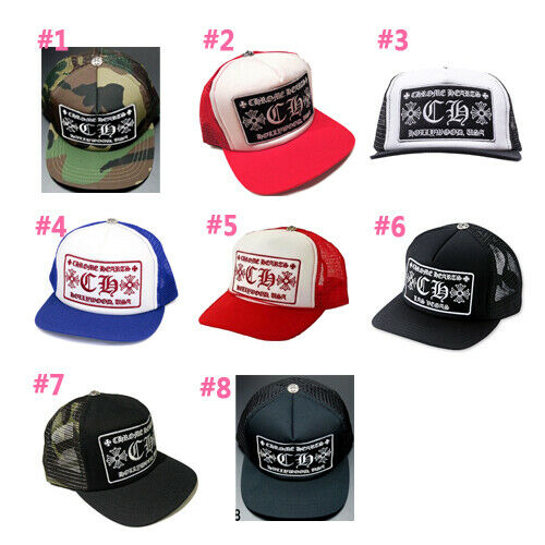 a1e9cbcdccf Details about Authentic  Chrome Hearts  Mesh Trucker Cap with CH Patch  ( Choose one)