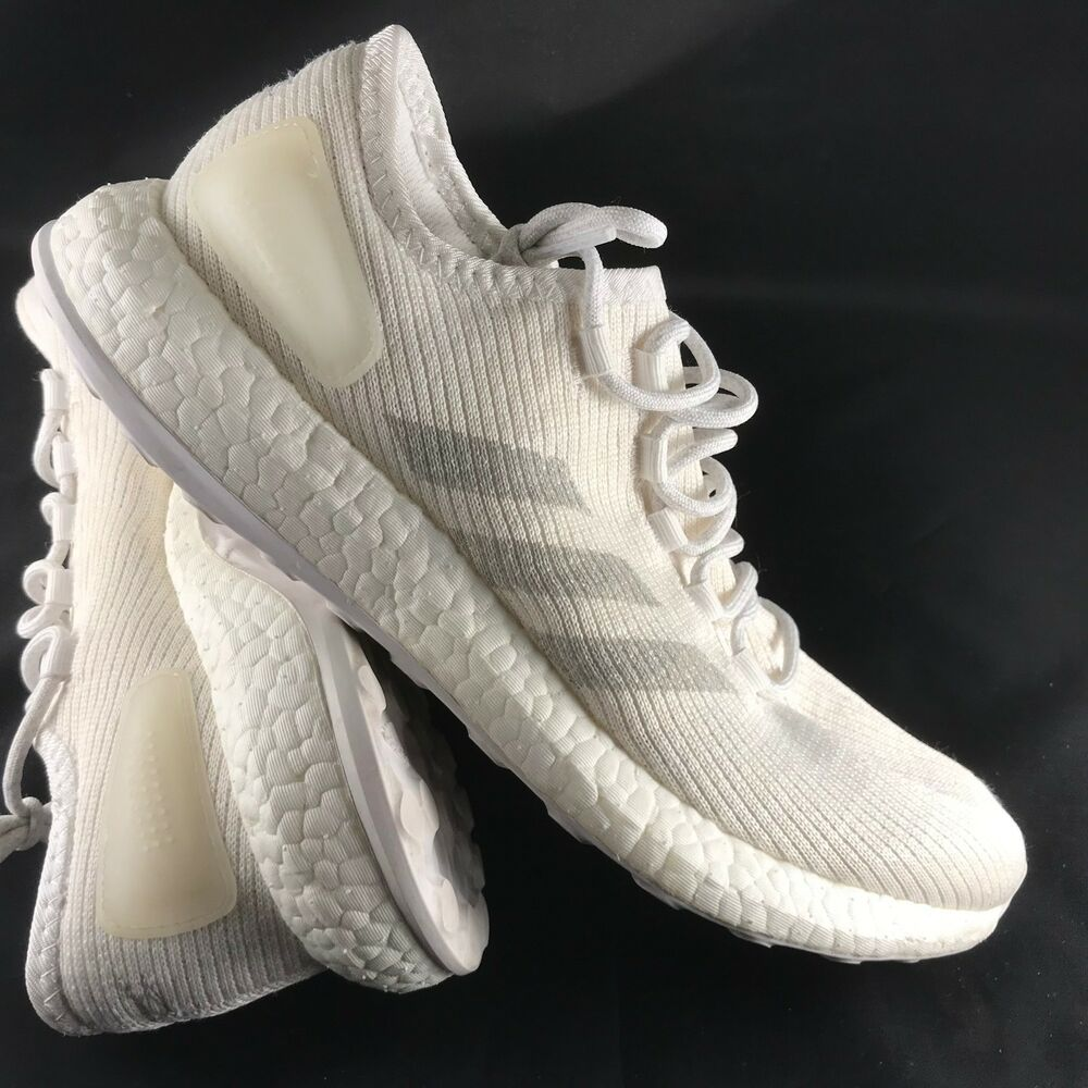 21defef34 Details about adidas Pure Boost Clima Mens Running Trainer Shoe UK Size 9  BA9058