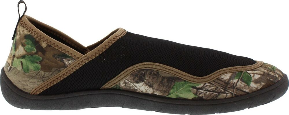 f55e1d2794537 Details about NEW!! FIELD @ STREAM MEN'S REALTREE XTRA GREEN WATER SHOES.  SIZE. 10