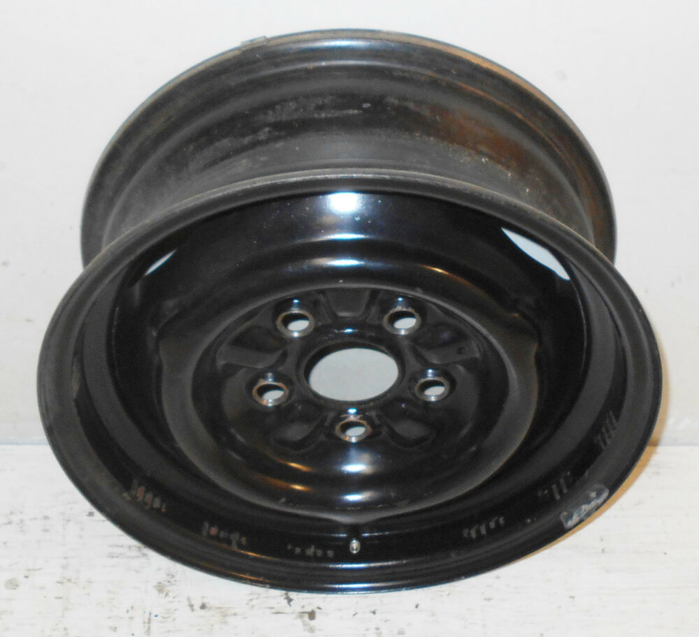 Details about 1964 1965 1966 1967 ford mustang falcon fairlane cougar orig 14x5 steel wheel