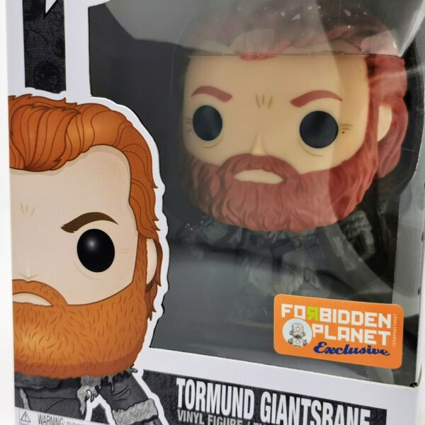 Funko Pop Game of Thrones 53 30653 Tormund Giantsbane Snow Covered Exclusive For