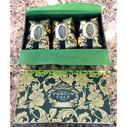PORTUS CALE Aromatic Soap Winter Garden 3 x 5.3 Oz. Package Sealed Made Portugal