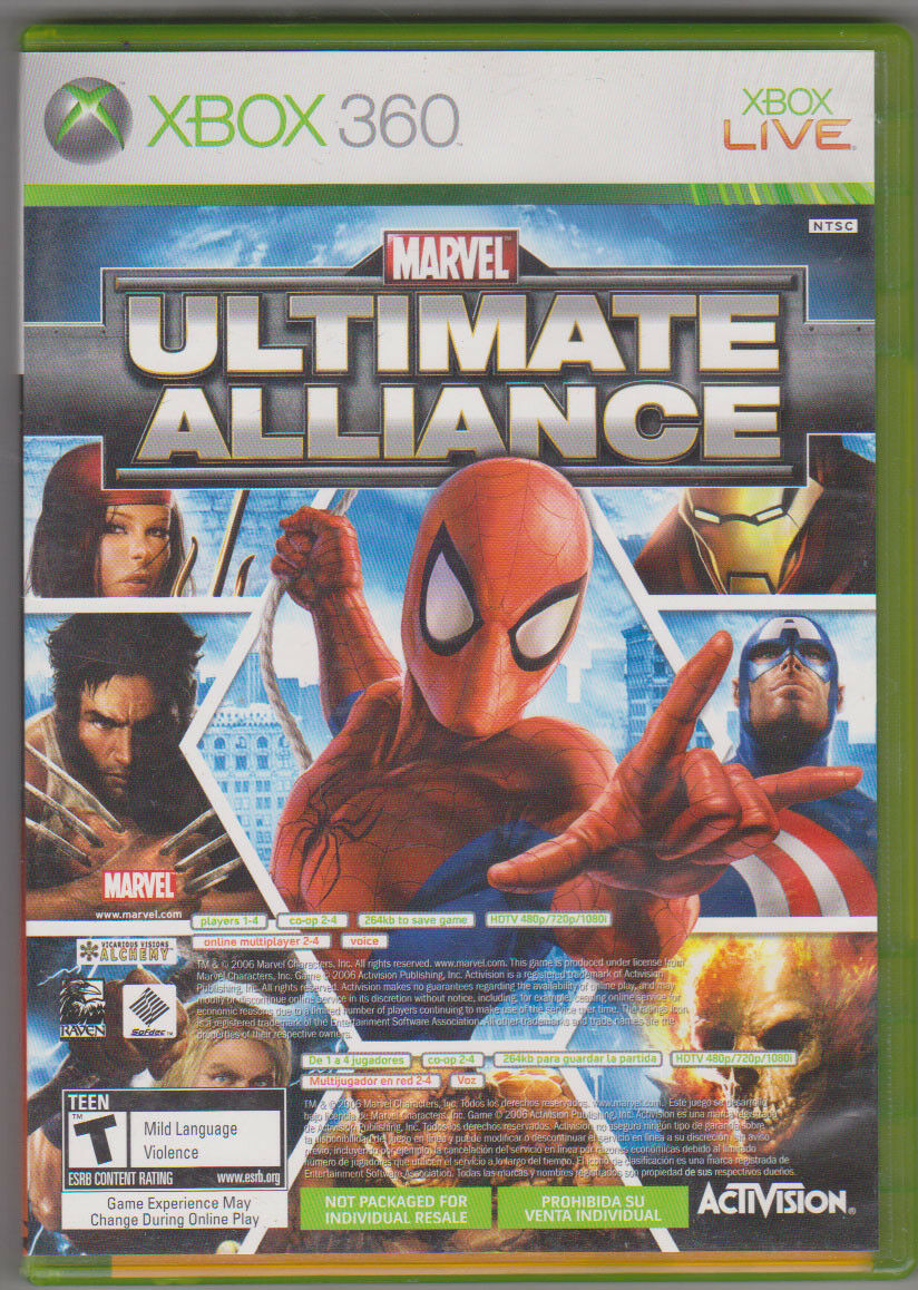 UPC 799007794868 - Marvel: Ultimate Alliance + Forza Motorsport 2