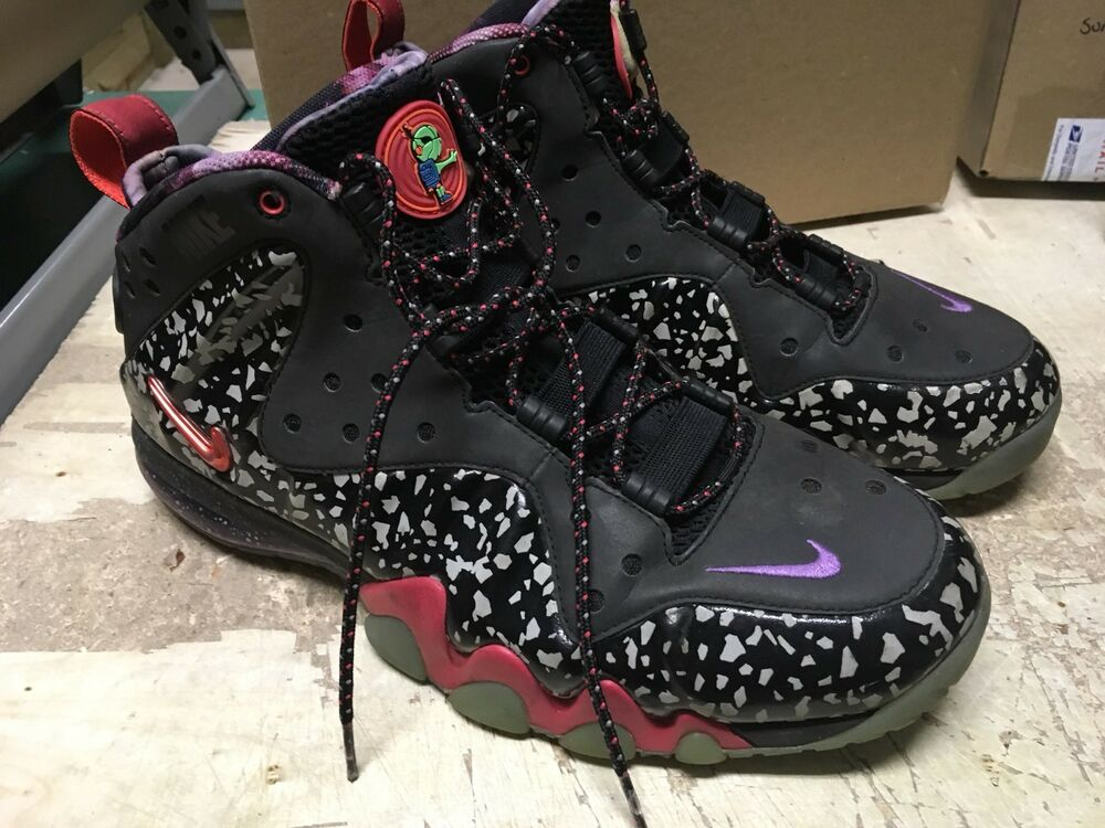 sports shoes fca19 051c6 Details about USED MENS NIKE BARKLEY POSITE MAX PRM QS AREA 72 RAYGUN 588527  060 Sz 10 NOBOX
