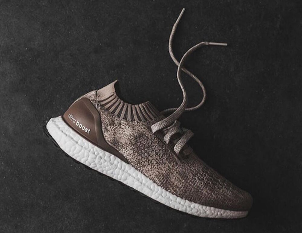 20ab9455a5c1b Details about DS Adidas ULTRABOOST UNCAGED RUNNING SNEAKERS BB4488 CLEAR  CLAY BROW SZ 8.5 FREE