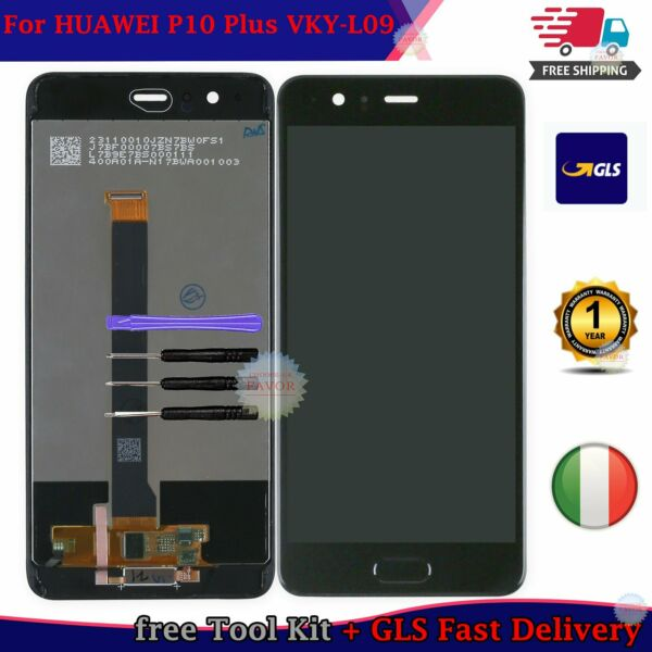 LCD DISPLAY Per HUAWEI P10 PLUS P10+ VKY-L09 touch screen schermo nero Assembly
