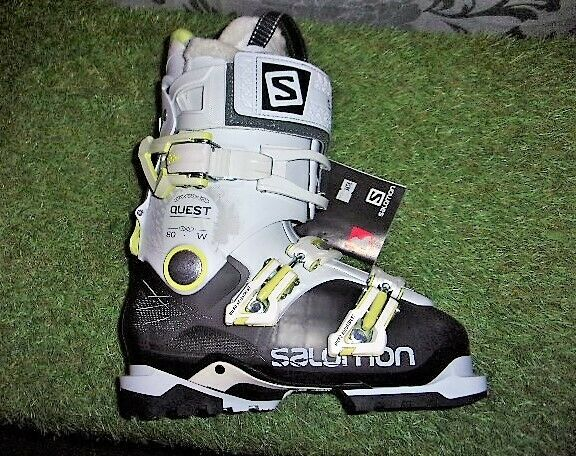Femme 37Ebay Alpin Access 80 Ski Salomon Chaussure Pointure Quest Anthtrans W De by76gf