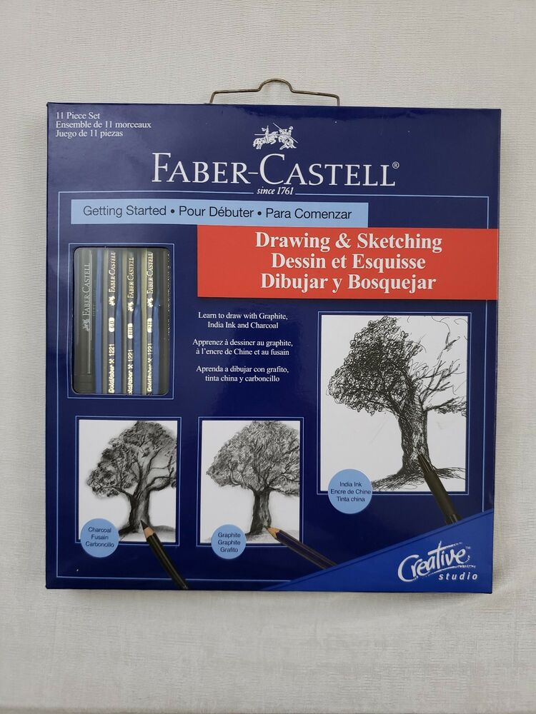 fabercastell drawing  sketching getting started 11 piece