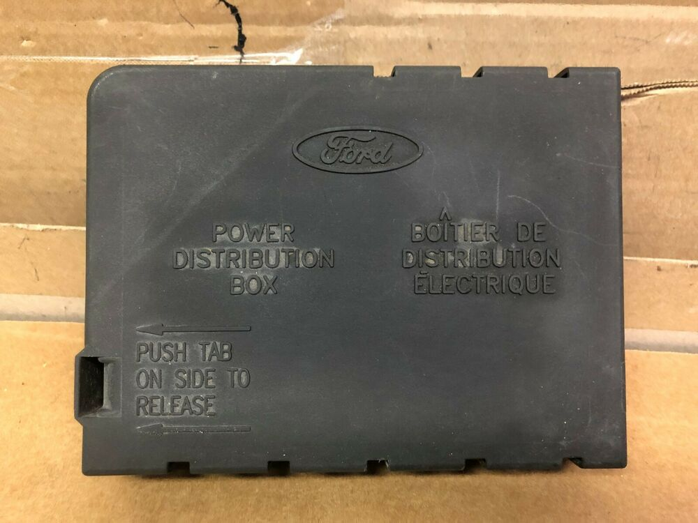 95 Lincoln Town Car Cartier Fuse Box Lid Cover 4 6l
