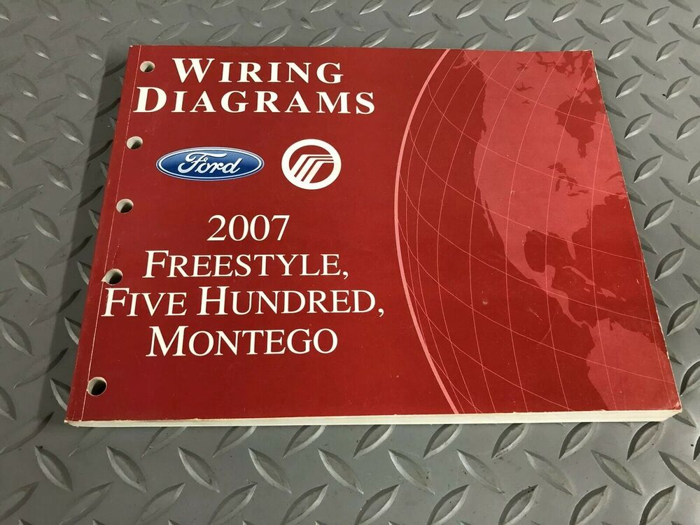 2007 Freestyle Five Hundred Montego Electrical Wiring