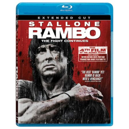 img-RAMBO : THE EXTENDED CUT (99 minutes) - Blu Ray - Sealed Region free