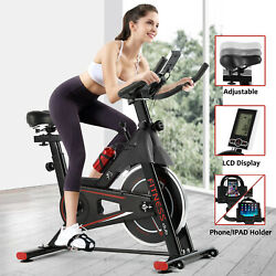 Kyпить Cycling Bike Exercise Stationary Bike W/phone Mount Cardio Workout Home Indoor на еВаy.соm