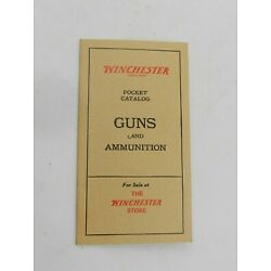 Winchester Pocket Catalog of Guns and Ammunition - Collector Reference Copy 6726