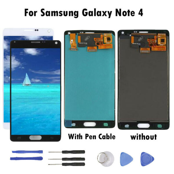 Per Samsung Galaxy Note 4 LCD Display Touch Screen Digitizer Digitizer Assembly