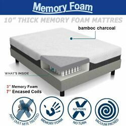 fa378ac19c2b 3000 memory foam reflex mattress double king 3ft 4ft 5ft depths 10, ( 3,