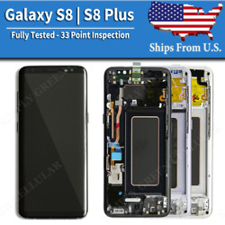 Kyпить Samsung Galaxy S8 | S8 Plus LCD Replacement Screen Digitizer With Frame (A) на еВаy.соm