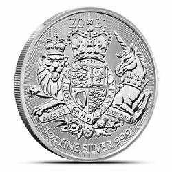 Kyпить 2019 Great Britain The Royal Arms - 1 oz. 999 Pure Silver Coin - BU - IN STOCK!! на еВаy.соm