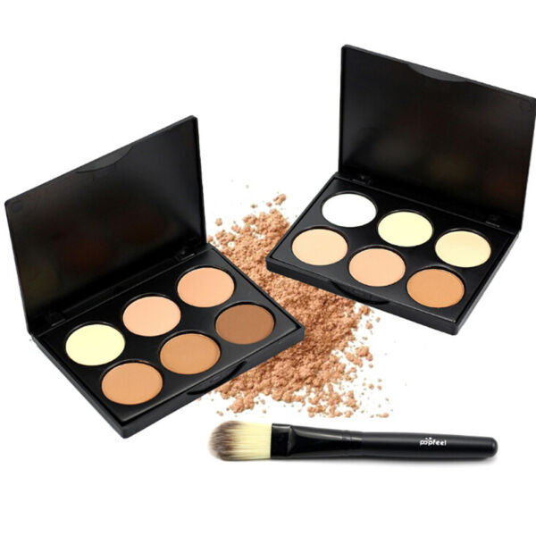 Eyeshadow Palette Smokey Makeup Eye Nude Cosmetic makeup eyeshadow brush he