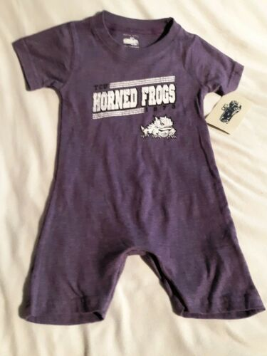 TCU Horned Frogs 18month bodysuit/ Cotton Willy/ New NCAA Official Gear