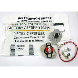Kyпить OEM FSP Whirlpool 279816 Dryer Thermostat and Thermal Fuse на еВаy.соm