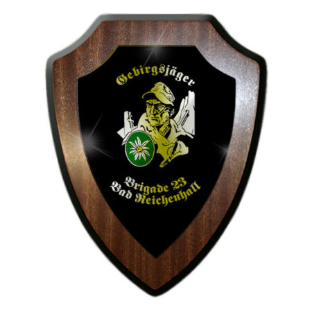 img-Mountaineer Brigade 23 Bw Bad Reichenhall Military Soldier Coat of Arms #19777