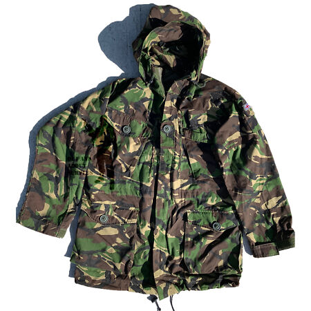 img-Jacket DPM Woodland Camouflage Combat Field Windproof Smock British Army Surplus